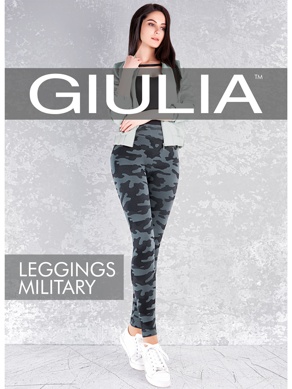 Giulia Military Leggings