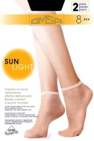 Omsa Sun Light 8 Calzino (2 пары)