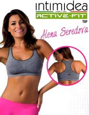Intimidea Active-Fit Top melange